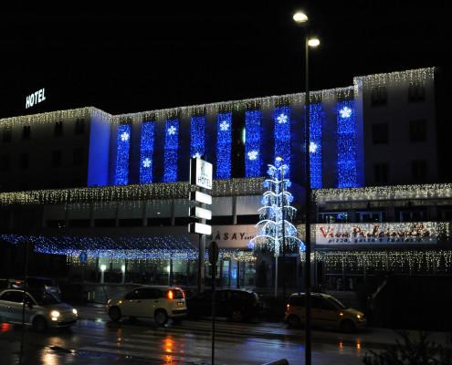 Luminarie Natalizie per Centri Commerciali e Hotel