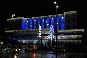 Luminarie natalizie illuminazioni natalizie e luci di natale a led